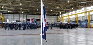 RAF 617 Dambusters Ceremony