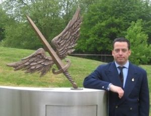 Johnny Wheeler and the 601 Squadron flying sword